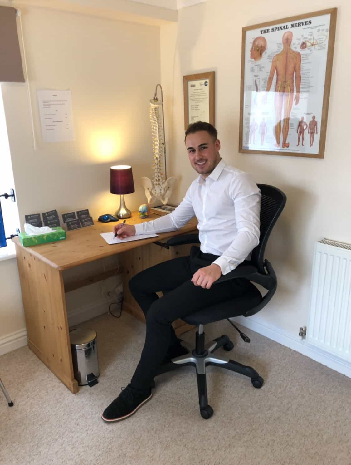 George Colson Chiropractor at Wootton Chiropractic Clinic